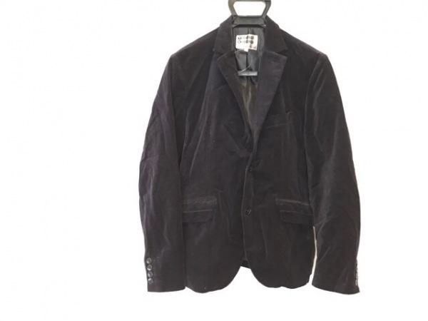 ティーケータケオキクチ ジャケット サイズ2 M メンズ ダークネイビー ベロア