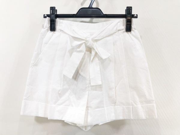 PAULEKA(ポールカ) ショートパンツ サイズ34 S レディース美品  アイボリー リボン