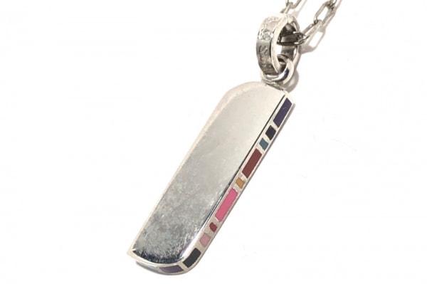 PaulSmith(ポールスミス) ネックレス 金属素材 シルバー×マルチ