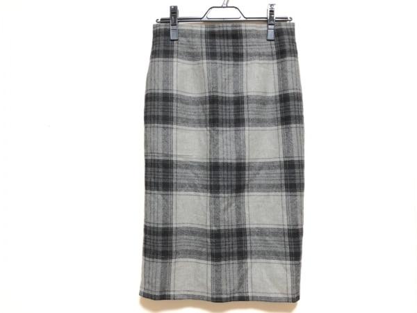 O'NEIL(オニール) スカート サイズ42 L レディース グレー チェック柄