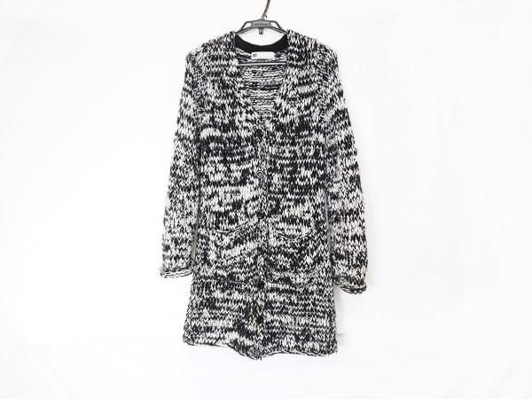 SLY(スライ) コート サイズ2 M レディース 黒×白 冬物/ニット