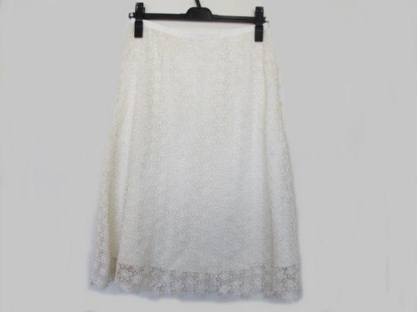 Lois CRAYON(ロイスクレヨン) スカート サイズM レディース美品  アイボリー レース