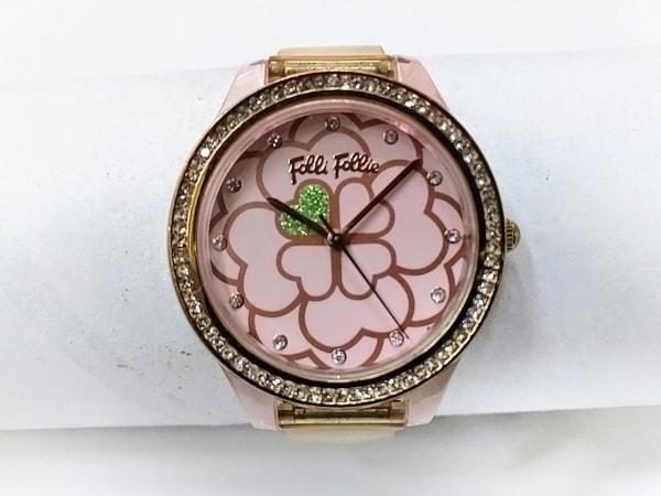 FolliFollie(フォリフォリ) 腕時計 WF16P005ZSP レディース ピンク