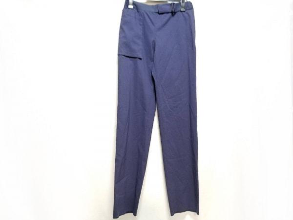 EMPORIOARMANI(エンポリオアルマーニ) パンツ サイズ40 M レディース美品  ネイビー