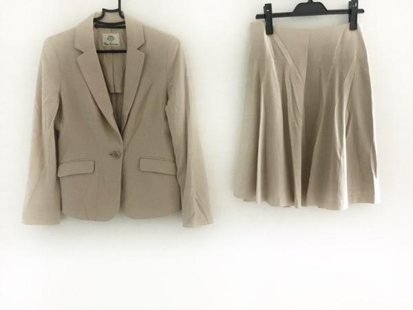 クリアインプレッション スカートスーツ サイズ3 L レディース ベージュ