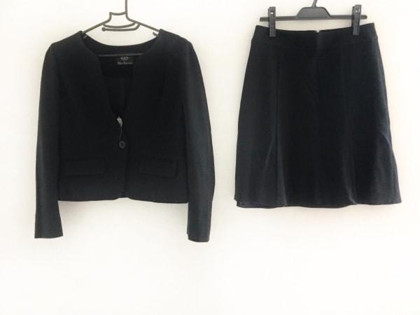 CLEAR IMPRESSION(クリアインプレッション) スカートスーツ サイズ3 L レディース 黒