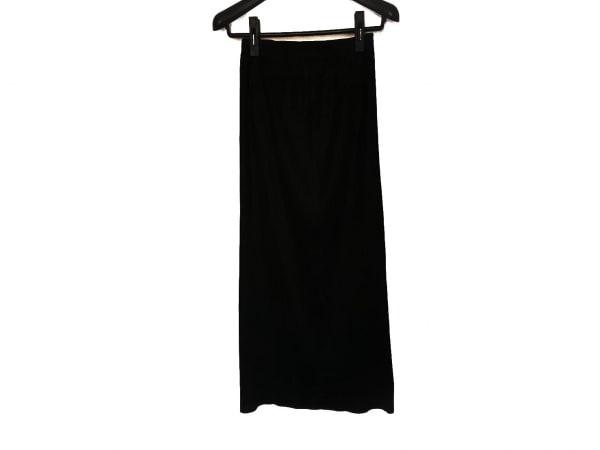 TYPHOON(タイフーン) ロングスカート サイズ2 M レディース新品同様  黒 プリーツ