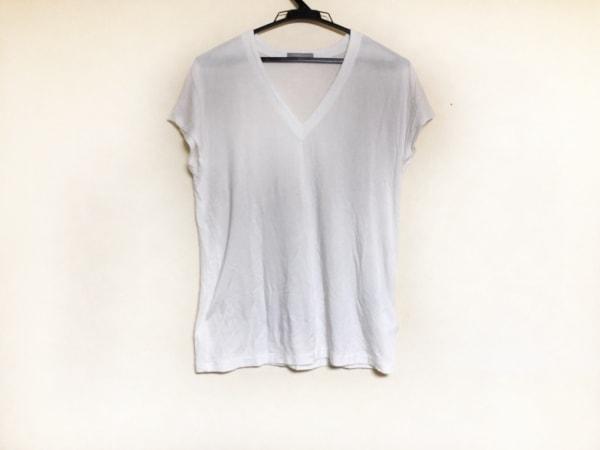 theory luxe(セオリーリュクス) 半袖Tシャツ サイズ38 M レディース 白 Vネック