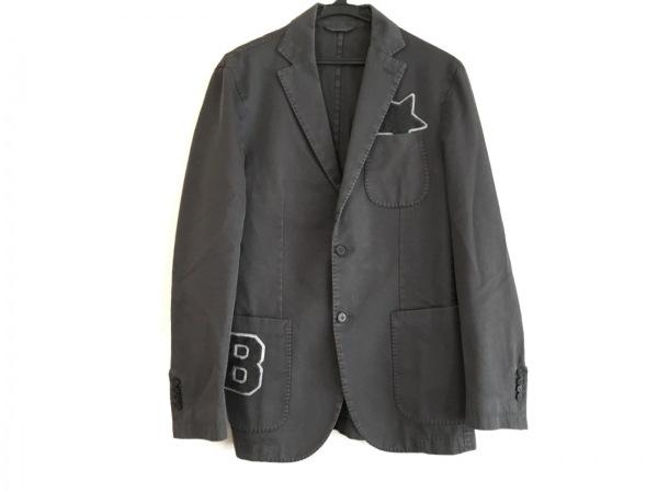ハイドロゲン ジャケット メンズ ダークグレー BRONZAJI/Luigi Bianchi Mantova