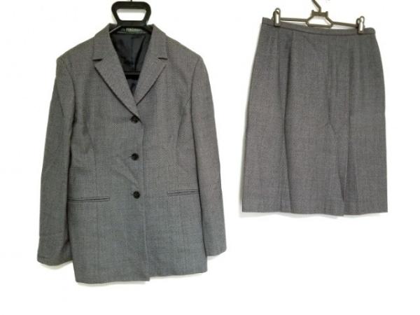 NEW YORKER(ニューヨーカー) スカートスーツ サイズ13 L レディース ライトグレー