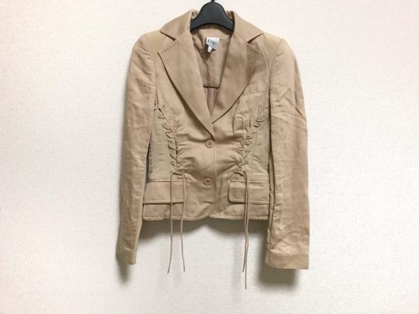 PAOLA FRANI(パオラ フラーニ) ジャケット サイズ40 M レディース美品  ベージュ