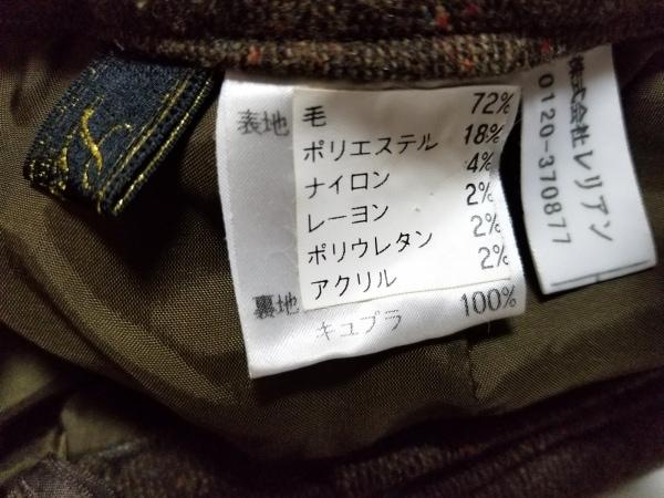 Leilian(レリアン) パンツ サイズ11 M レディース美品  ブラウン ツイード