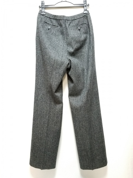 Leilian(レリアン) パンツ サイズ11 M レディース美品  黒×アイボリー ツイード