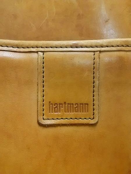 hartmann(ハートマン) ボストンバッグ ブラウン レザー