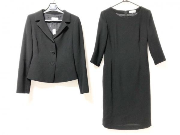 フランドル ワンピーススーツ サイズ9 M レディース美品  黒