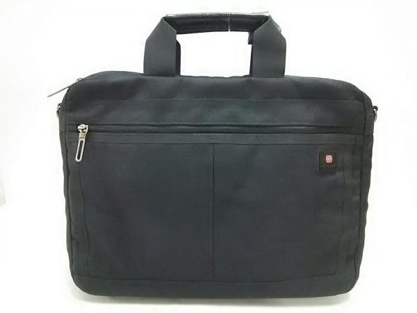 WENGER(ウェンガー) ビジネスバッグ美品  黒 ナイロン