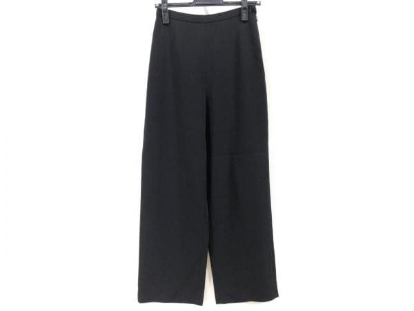 GIORGIOARMANI(ジョルジオアルマーニ) パンツ サイズ38 S レディース美品  黒