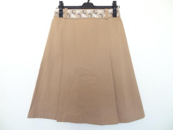 CELINE(セリーヌ) スカート サイズ34 S レディース美品  ライトブラウン