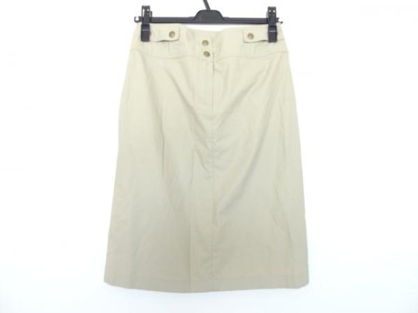 CELINE(セリーヌ) スカート サイズ36 S レディース ベージュ
