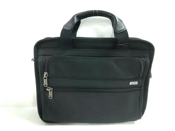 TUMI(トゥミ) ビジネスバッグ美品  26021D4 黒 ナイロン×レザー
