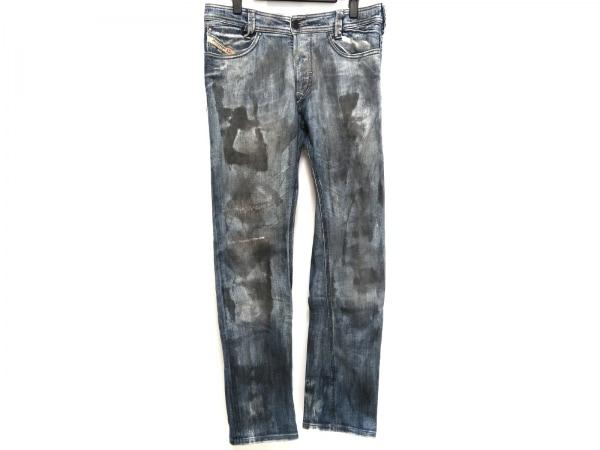 ディーゼル ジーンズ サイズ30 メンズ SLAMMER ブルー×ダークグレー サンプル品