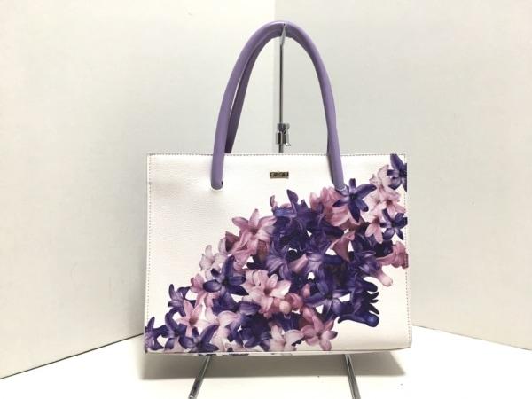 Rady(レディ) ハンドバッグ美品  パープル×ピンク×白 花柄 合皮