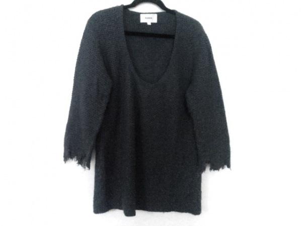 ALEUCA(アリューカ) 長袖セーター サイズL レディース ダークグレー