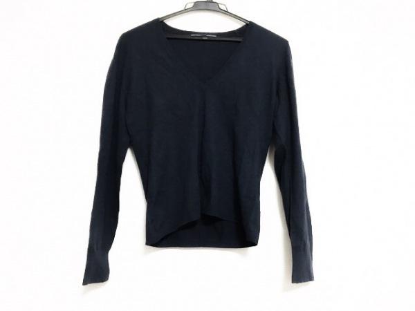 theory luxe(セオリーリュクス) 長袖セーター サイズ40 M レディース美品  ネイビー