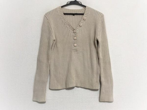 23区(ニジュウサンク) 長袖セーター サイズ40 M レディース アイボリー