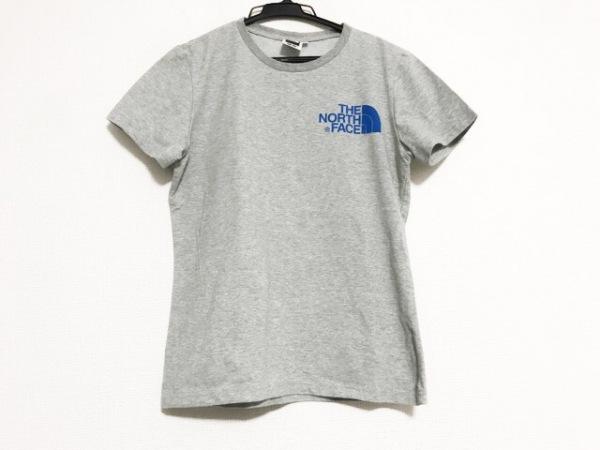 THE NORTH FACE(ノースフェイス) 半袖Tシャツ サイズM レディース美品  ライトグレー