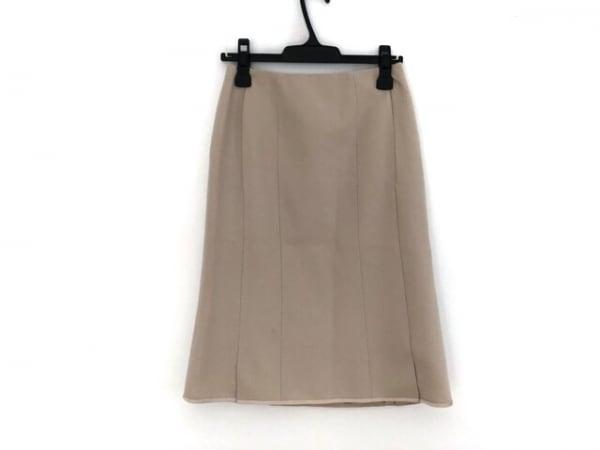 TO BE CHIC(トゥービーシック) スカート サイズ38 M レディース アイボリー