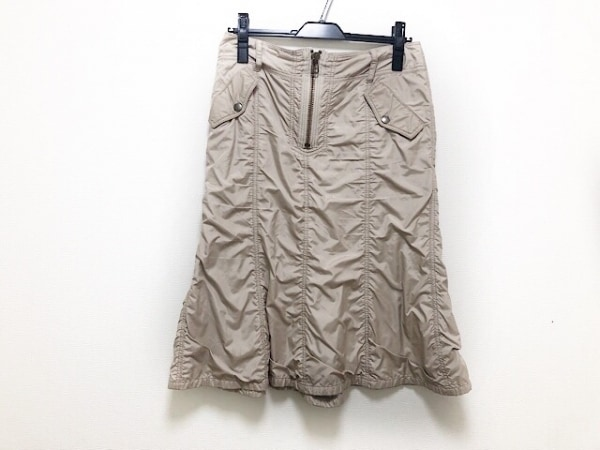 レキップ ヨシエイナバ スカート サイズ40 M レディース美品  ベージュ