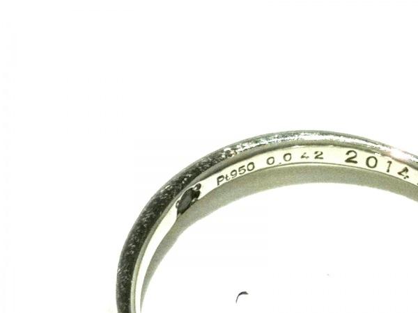 ノーブランド リング 2336 1.8 Pt950×ダイヤモンド クリア