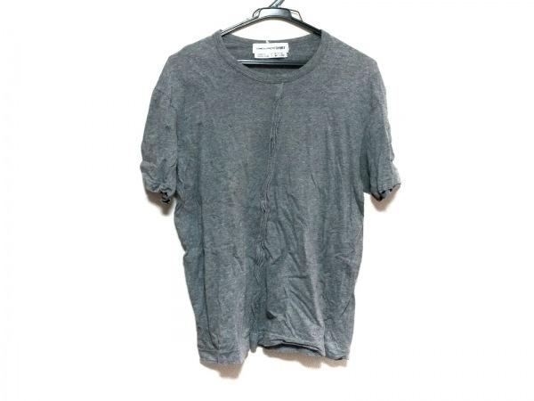 コムデギャルソンシャツ 半袖カットソー サイズS レディース グレー
