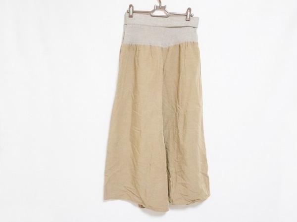 BEARDSLEY(ビアズリー) パンツ サイズF レディース ベージュ×ライトグレー