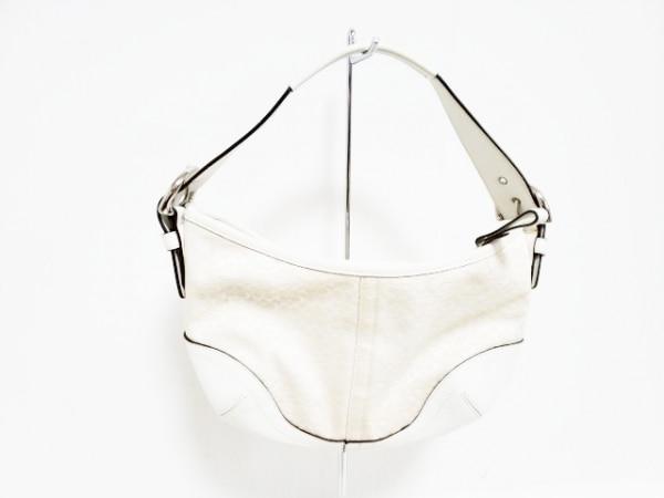 COACH(コーチ) ハンドバッグ美品  ミニシグネチャースモールホーボー 6351