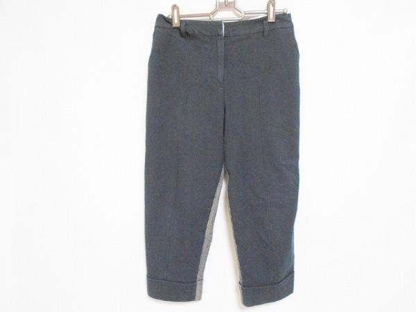 Lois CRAYON(ロイスクレヨン) パンツ サイズM レディース美品  ネイビー×黒×グレー