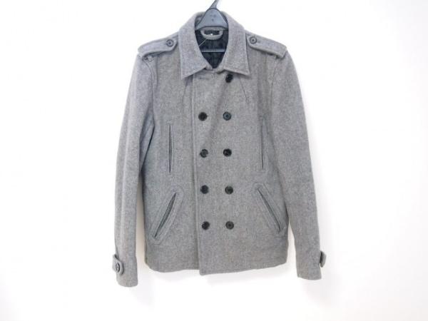 ABAHOUSE(アバハウス) Pコート サイズ4 XL メンズ グレー 冬物