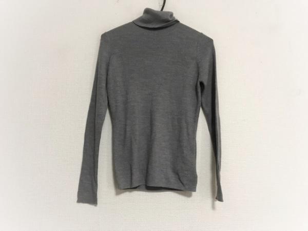 ランバンオンブルー 長袖セーター サイズ38 M レディース美品  グレー