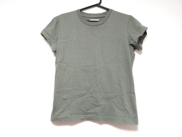 agnes b(アニエスベー) 半袖Tシャツ サイズ1 S レディース カーキ