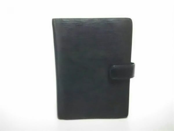 LOUIS VUITTON(ルイヴィトン) 手帳 エピ美品  アジェンダMM R20042 ノワール