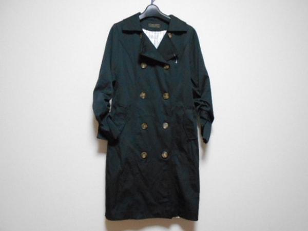 MADAME HIROKO(マダムヒロコ) コート サイズ11 M レディース 黒 冬物
