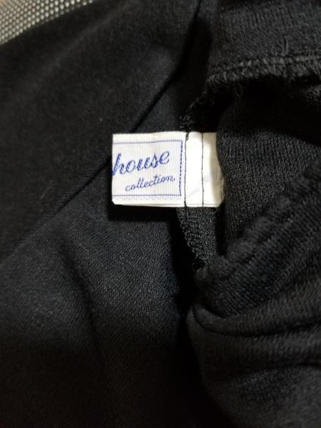 ミキハウス ワンピースセットアップ サイズ130 レディース美品  黒×アイボリー