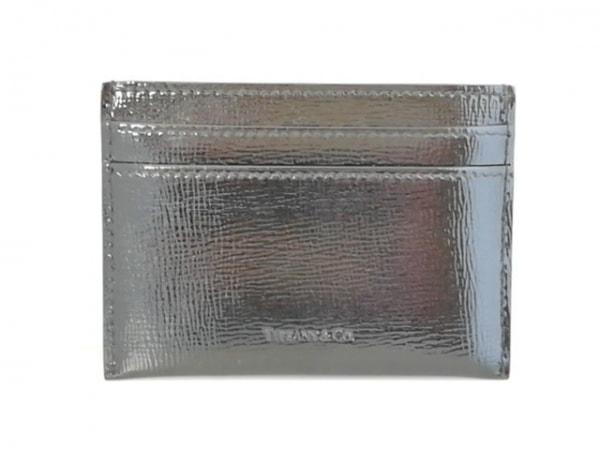 TIFFANY&Co.(ティファニー) カードケース 黒 エナメル(レザー)