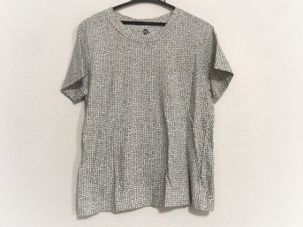45R(フォーティーファイブ・アール) 半袖Tシャツ サイズ3 L レディース美品  花柄