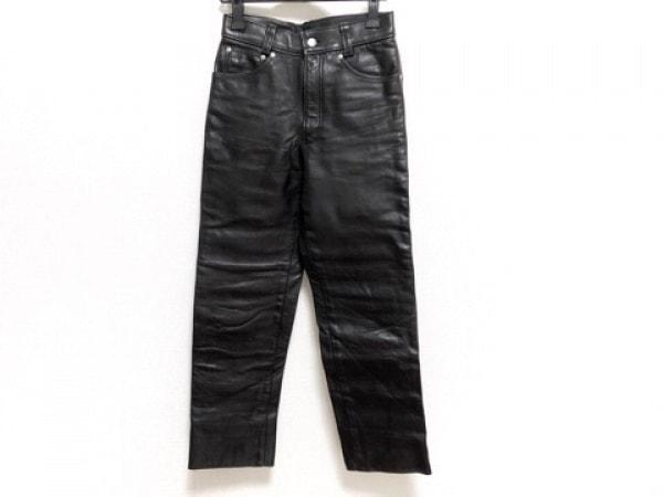 schott(ショット) パンツ サイズ28 メンズ 黒 レザー