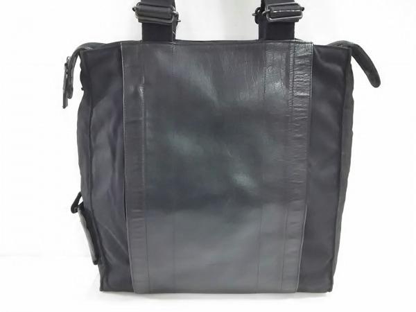 DKNY(ダナキャラン) ビジネスバッグ美品  黒 レザー×ナイロン