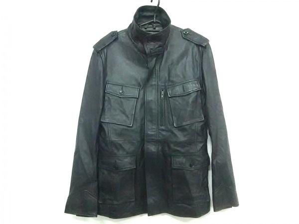 ダイヤモンドギーザー ライダースジャケット サイズ2 M メンズ 黒 春・秋物