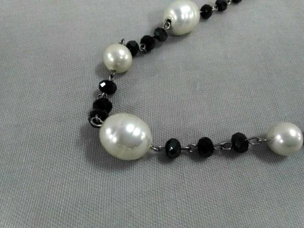 ABISTE(アビステ) ネックレス美品  フェイクパール×プラスチック×金属素材