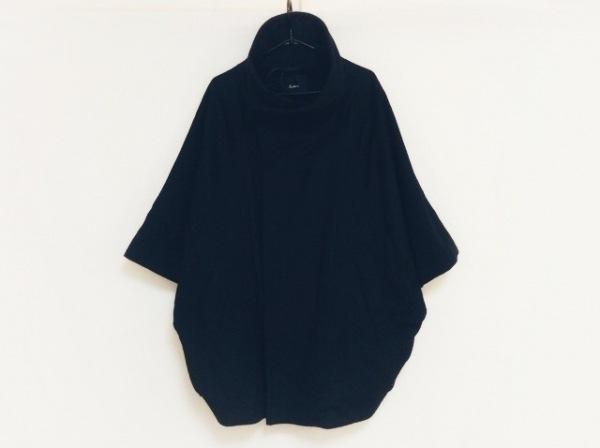 Edition(エディション) コート サイズ38 M レディース 黒 冬物/ドルマンスリーブ
